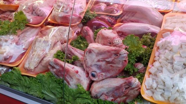 Lamb heads