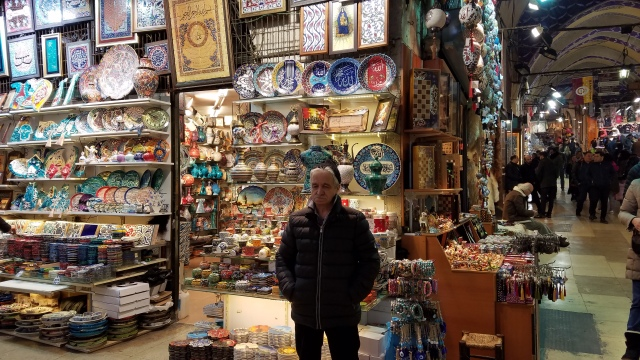 Shopkeeper at the Grand Bazaar